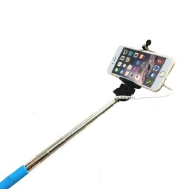 Z07-5 Portable Stainless Steel Selfie Stick for iPhone/Samsung/Vivo/Xiaomi