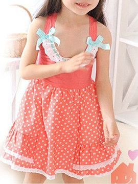 Girls' Bowknot   Princess Dress