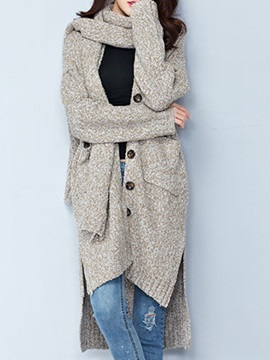 Splendid  Fabric  Long  Cardigan