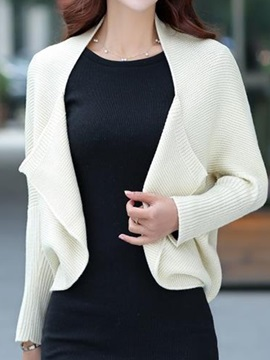 Chic  Batwing  Sleeves  Short  Cardigan