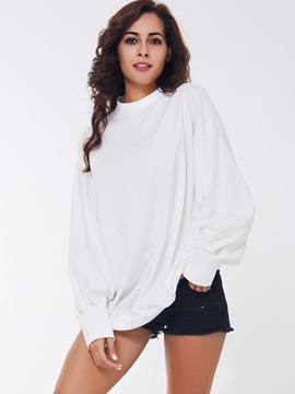 Casual Solid Color Oversize Hoodie