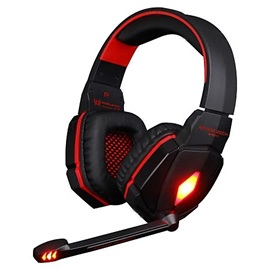 Stereo Noise Cancelling HiFi Driver LED Light Two Color Optional Over-Ear Headphones