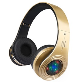 Bluetooth Bliateral Stereo Folding Headphone