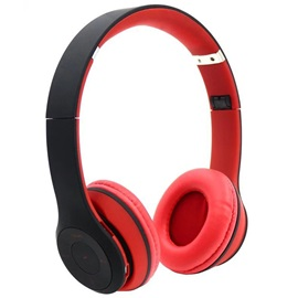 Wireless Headset Hands-free Stereo Headphone Support Cards with Mic