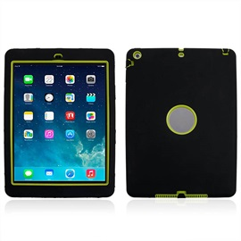 For iPad AirSafe Armor Shockproof Heavy Duty Silicone Hard Case Cover