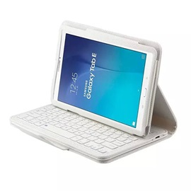 For Samsung Galaxy Tab E 9.6 Multifunction Removable Wireless Bluetooth Keyboard Case