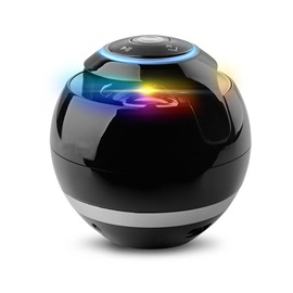Portable Mini Bluetooth Speaker Ball, Wireless Column Handfree TF Fm Radio with Mic Mp3 Globe Audio Music G5 Receiver for Phone