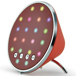 AODASEN JY-26A Mini with LED Light BT Speaker for iPhone/Samsung/Android
