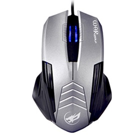 Warwolf M560 USB Wired Computer Mouse 3D Ergonomic Super Slim Portable Mice