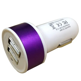 Metel Two USB Car Charger