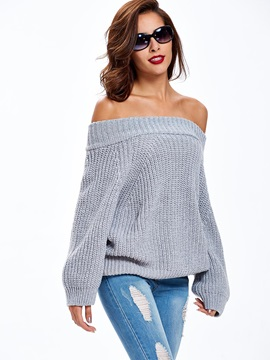 Stylish Multi Color Loose Sweater