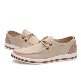 Canvas Lace-Up Front Casual Shoes