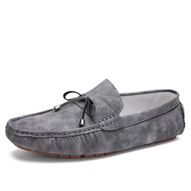 Suede Slip-On Driving Shoes