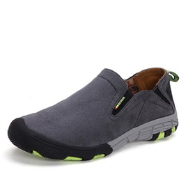 Suede Round Toe Slip-On Outdoor Shoes