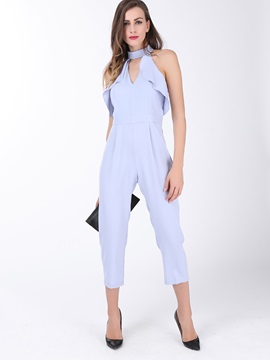 Serenity Falbala Patchwork Jumpsuit