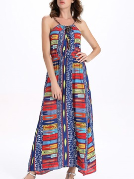 Sisjuly® Ethnic Sleeveless  Dress