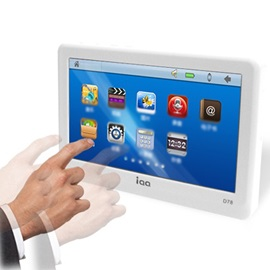 AIWEI D78 MP4 with Touch Screen Support TTS Voice Reading