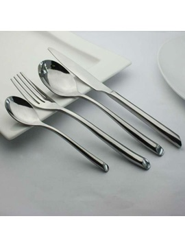 Thick Stainless Steel Four Pieces Serving Sets