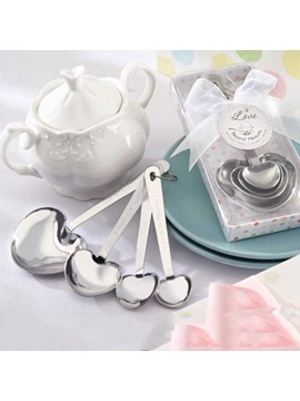 Loveable Wedding Favor Heart-Shaped Coffee Spoon