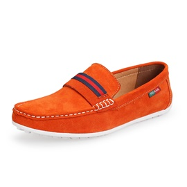 Solid Color Quilted Moccasin-Gommino