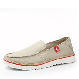 Canvas Slip On Men's Shoes