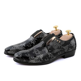 Studded Pointed Toe Men's Dress Shoes