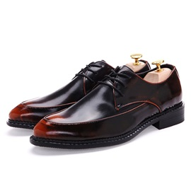 Brush-Off Pointed Toe Men's Dress Shoes
