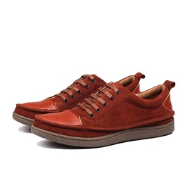 Suede  Lace-Up Men's Casual Shoes