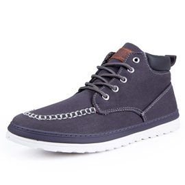 Spring Style Mid-Cut Canvas Shose