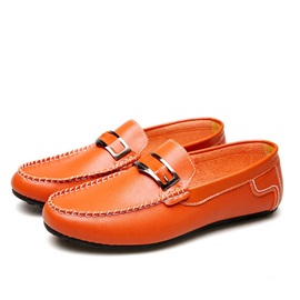 PU Thread Slip-On Casual Shoes for Men