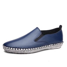 Breathable PU Crochet Slip-On Loafers
