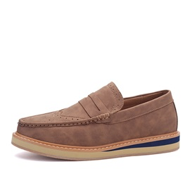 Retro Wingtips Slip-On Men's Casual Shoes