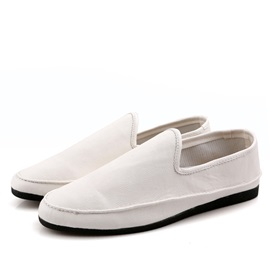 Cozy PU Round Toe Slip-On Driving Shoes