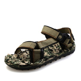 Camouflage Color Velcro Beach Sandals
