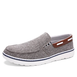 Soft Linen Slip-On Casual Shoes