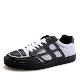 Breathable Mesh Tie-Up Casual Shoes