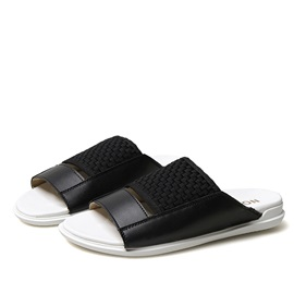 PU Crochet Men's Flat Sandals