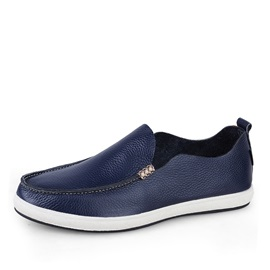 Fashion PU Thread Driving Shoes