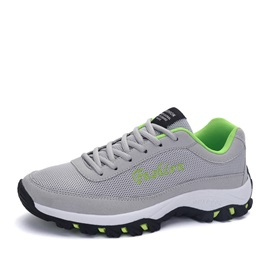 Breathable Hollow Lace-Up Men's Sneakers