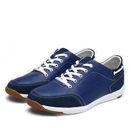 Fashion Thread Lace-Up Men's Casual Shoes