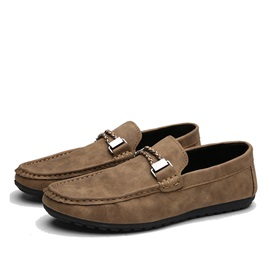 Retro Buckles Men's Casual Shoes
