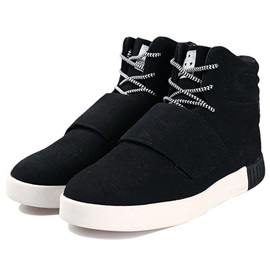 PU Plain Lace-Up Round Toe Fashion Boots for Men