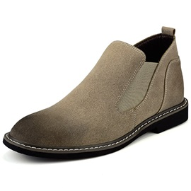 PU Slip-On Contrast Toe Men's Shoes