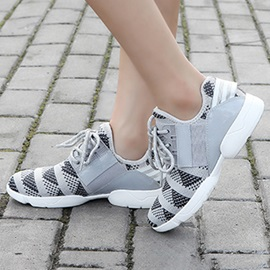 Breathable Cloth Lace-up Sport