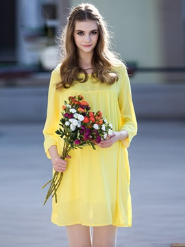 Fall Comfortable Chiffon Maternity Dress