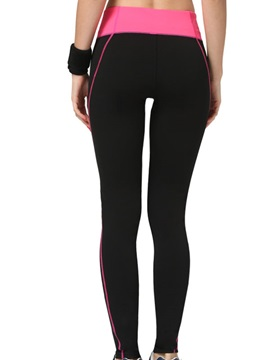 Polyester Wide Waistband Running Pant