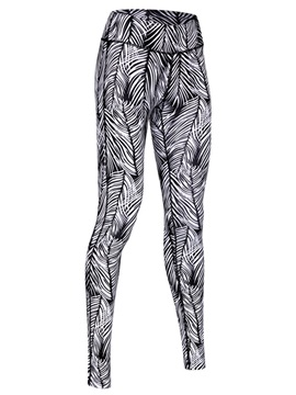 Casual Printing Sheath Sports Leggings