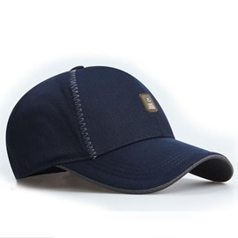 Pure Color All Matched Baseball Cap for Men