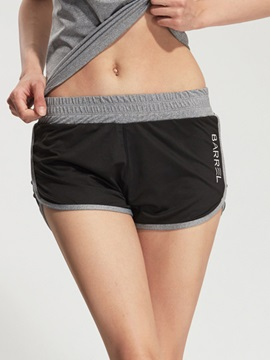 Polyester Quick-Drying Women Jogger Shorts