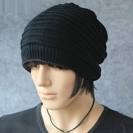 Casual Knitting Men's Hat